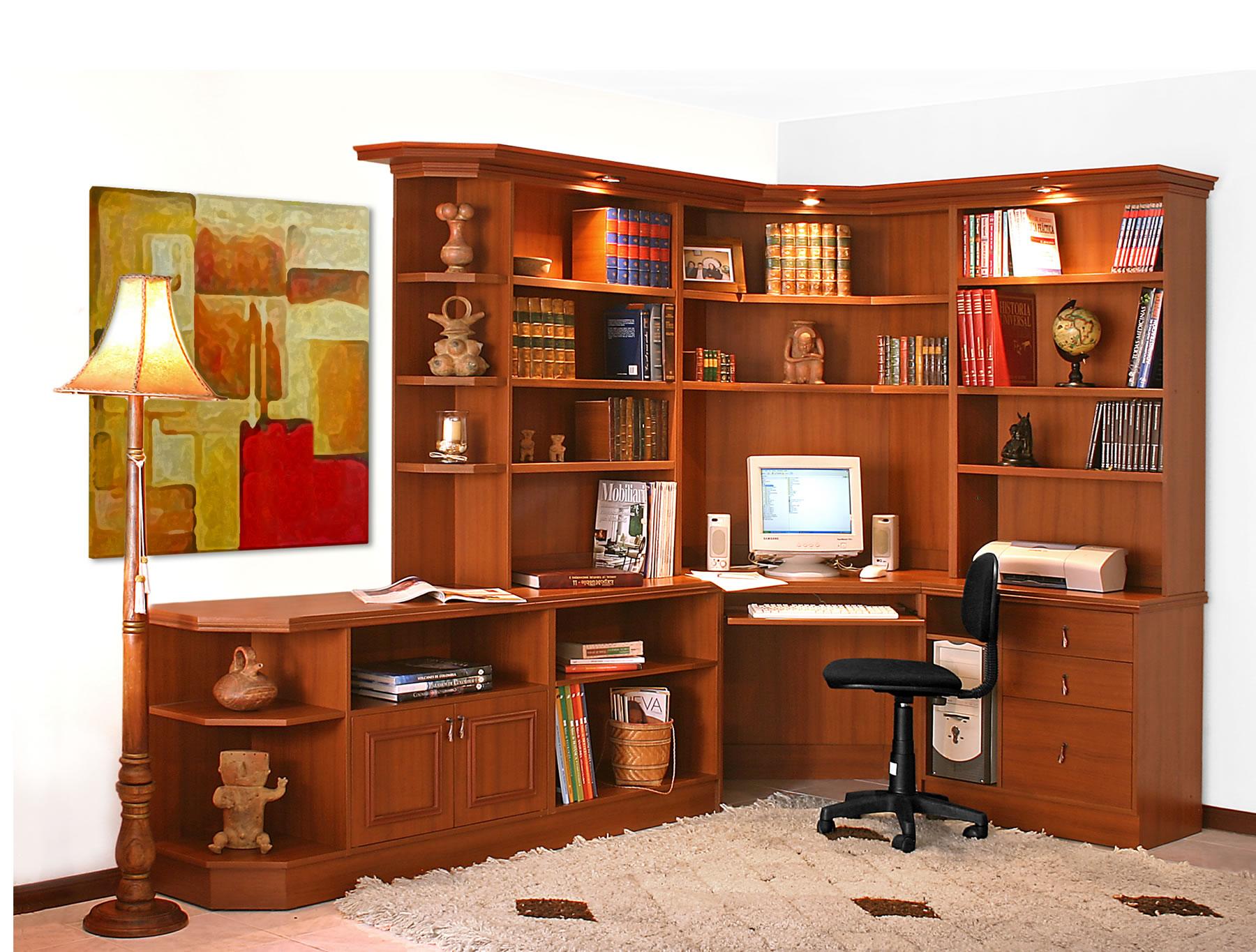 Muebles bibliotecas easy for Biblioteca para oficina